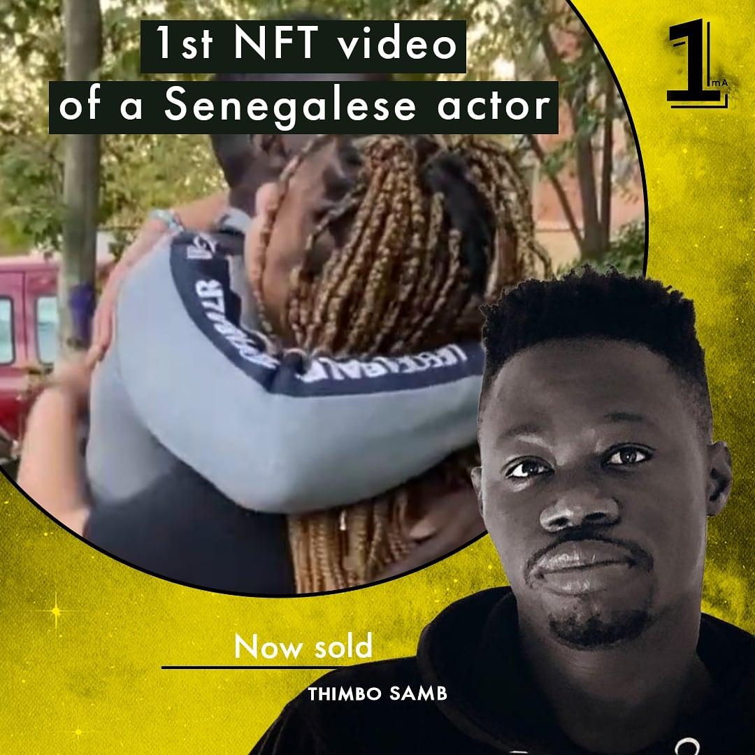 Genesis NFT Video from Thimbo Samb sold